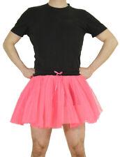 Neon-Pink Tütü & dehnbarer Gummizug Größe XL Männerballett Junggesellenabschied