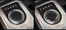 Carbon Fiber Gear Shift Knob Frame Cover Trim pour Range Rover Evoque A02