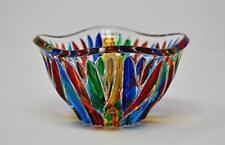 Murano Glass Fire Bowl - Handmade Italian Glass