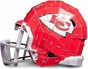 NFL Kansas City Chiefs 3D Helmet Puzzle FOCO PZLZ Mahomes KC Super Bowl football