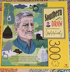 """Jeff Foxworthy Southern Draw """"Jack"""" 300 Piece Jigsaw Puzzle Cardinal 18x24"""" New"""