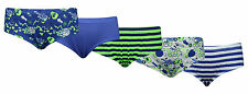 Boys Children's 100% Cotton Hipster Briefs 5 Pack Elasticated Waist Printed