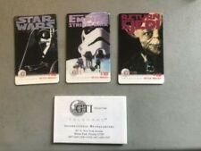 Prepaid Phone Cards Star Wars Ads 1996 (No Cash Value)