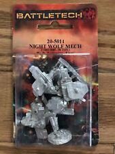 Classic Battletech Night Wolf Mech 20-5011 Nisb