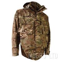 Genuine British Army MTP Waterproof Goretex MVP Hooded Raincoat Smock Jacket