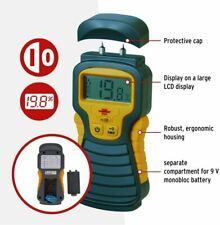 Brennenstuhl Moisture Detector (Moisture Meter for Wood/Walls/etc) LCD Display