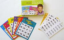 A+ MATH BINGO OPERATIONS EDUCATIONAL PLAY CLASSROOM TEACHER RESOURCES NEW