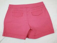 Izod Womens Shorts Size 10 Pink Floral Chino A35RD17