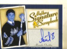 2005-06 UPPER DECK BEEHIVE - ALEXANDER OVECHKIN ROOKIE AUTOGRAPHED CARD!