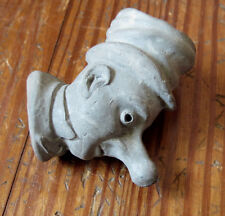 ANTIQUE CLAY PIPE BOWL - ALLEY SLOPER - COMIC - Figural - British