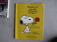 Vintage 1974 Booklet Tournament of Roses Program LOOK