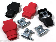 Military Battery Terminals & Boots Set For A Heavy Duty Dual Battery Set Up