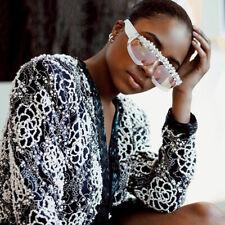 Luxury Grape Crystal Diamond Sunglasses Women Fashion Personality Shades Party