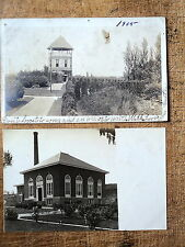 2 RPPC Brockton Ma 1905-08s Highland Park Tower Pumping Station