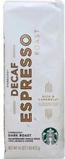 Starbucks Decaf Espresso Dark Whole Bean Coffee