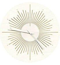 "Wenday Wall Clock,12"" Silent Non-Ticking Quartz Decorative Clocks, Modern"