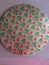 Round Christmas Cake boards X3