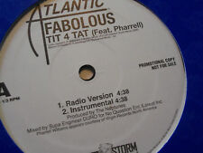 "Fabolous "" Tit 4 Tat"" Feat. Pharrell Single Vinyl LP TVTRECORDS"