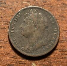 1826 United Kingdom farthing - nice details