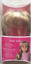 American Girl DOLL 'DOS Stylin' Bangs - Blond Hairpiece NEW  8+