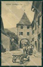 Bolzano Merano Buoi PIEGA cartolina QZ8048