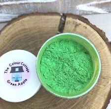 Mica Powder 1oz Jar Green Apple Shimmer for Epoxy Resin, Cosmetics, Nails