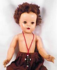 Vintage Doll Hard Plastic Catholic Girl 20in. Dressed As Pre Vatican Ii Nun