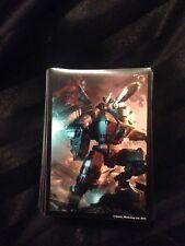 100 fuera de imprenta Warhammer CCG Tau Card Sleeves