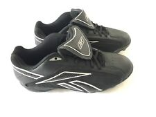 Reebok Pro Cooperstown Baseball Cleats Size 10.5 Authentic Collection Black