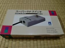 HORI Super RF Switch SFC Famicom PC-Engine HSRF-01 Near Mint Unused 4