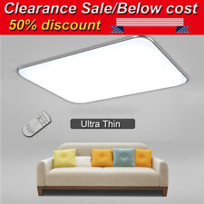 LED Ceiling Light Dimmable Ultra Thin Flush Mount Kitchen Lamp Home Fixture US