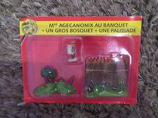 Asterix - Editions ATLAS - Le Village - n°21 : Mlle agécanonix au banquet+un gro