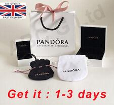 Genuine PANDORA Charm Box, Gift Bag, bag,Velvet Pouch, ring box, Bracelets box
