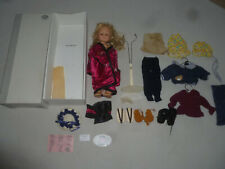 Boxed Gotz Puppenfabrik Vicky Doll & Accessories Lot GmbH Rare Germany Clothes >