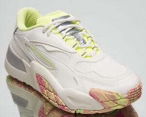 Puma Hedra Chaos Women's Marshmallow Fizzy Yellow Lifestyle Sneakers Casual Shoe