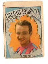 CALCIO FIGURINA  CALCIATORI   VAV  CAMPIONATO 1950  BOLOGNA  BERNICCHI