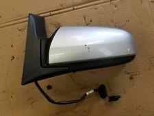 Pour Vauxhall Zafira B 05-09 droit électrique Aile Porte Miroir en verre avec plaque