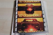 86453) Oldsmobile Toronado Cutlass Ciera GT Firenza - USA - Prospekt 08/1986