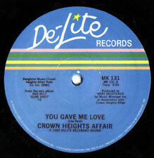 Crown Heights Affair – You Gave Me Love  - 12""