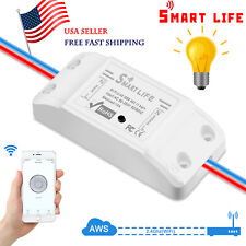 WiFi Wireless Light Switch Module Breaker Smart Home For IOS Android APP Control