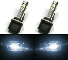 LED 30W 880 H27 White 5000K Two Bulbs Fog Light Replacement Upgrade Lamp OE