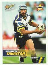 2008 NRL CHAMPIONS COWBOYS JOHNATHAN THURSTON 100 COMMON BASE CARD FREE POST