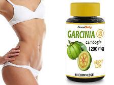 Garcinia Cambogia 1200mg Line@ con 60% HCA - 100% Naturale - Prodotto ITALIANO