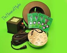 12 head Ultrasonic Mist Maker - Pond Fogger- diy Humidifier- With Teflon Discs!