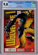 Savage Wolverine Marvel 2013 #1 CGC 9.8 1:100 Quesada Variant Top Census Grade