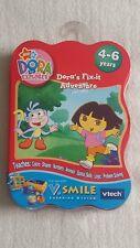 Dora's Fix-it Adventure Game Vtech VSmile  4-6 yrs ■Girls■Boys ■Children's