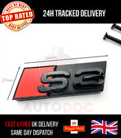Audi S3 Gloss Black Front Grille Badge Emblem Grill