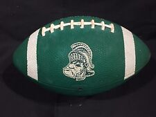 VINTAGE 1980s MICHIGAN STATE SPARTANS MSU Mini FOOTBALL GRUFF SPARTY logo