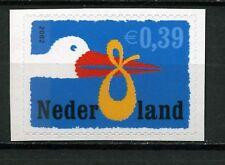 Nederland 2047b Geboortezegel geknipt uit mailer L-balk