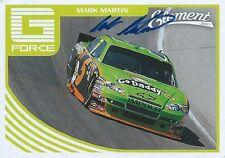 MARK MARTIN AUTOGRAPHED 2011 WHEELS ELEMENT RACING NASCAR PHOTO TRADING CARD #77